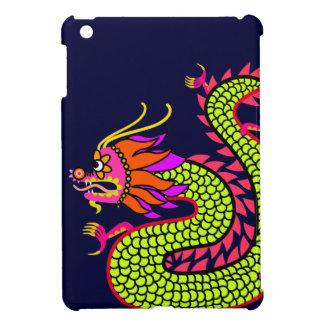 Chinese Dragon (dark blue) Case For The iPad Mini