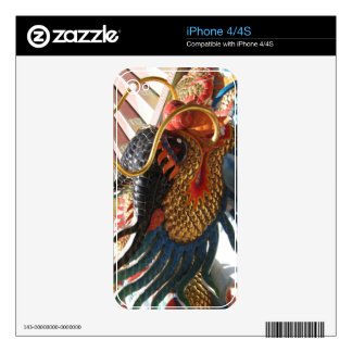 Chinese Dragon Decal For The iPhone 4