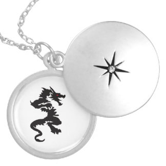 Chinese dragon design jewelry set