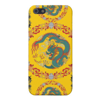"""Chinese Dragon Fire Ipad- Speck Case"" iPhone SE/5/5s Cover"
