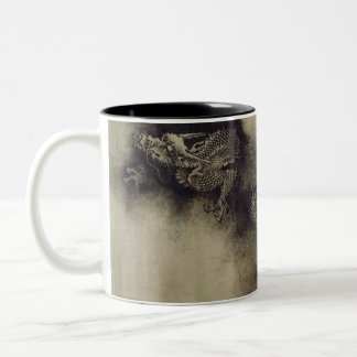 Chinese Dragon from Song Dynasty by Chen Rong Two-Tone Coffee Mug