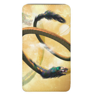 Chinese dragon galaxy s5 pouch