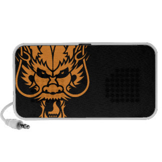 Chinese Dragon Head Doodle Speaker