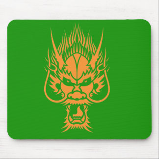 Chinese Dragon Head Mousemat Mouse Pad
