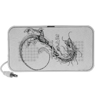 Chinese Dragon Illustration Notebook Speaker