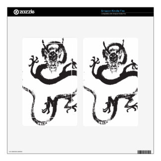 Chinese Dragon Kindle Fire Decal