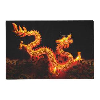 Chinese Dragon Lantern Placemat