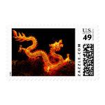 Chinese Dragon Lantern Stamps