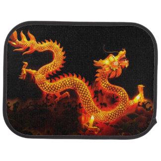 Chinese Dragon Lantern Floor Mat