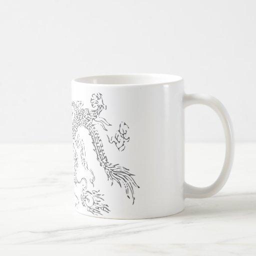 Chinese dragon (Long) Coffee Mugs