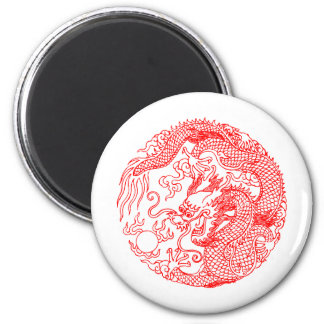 Chinese Dragon Fridge Magnet