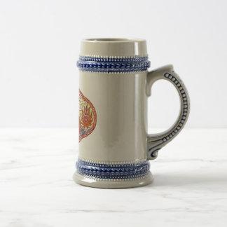 Chinese Dragon Medallion Coffee Mug