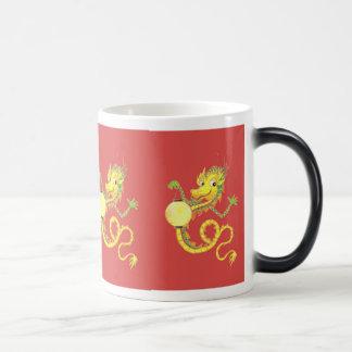 Chinese Dragon Morphing Mug