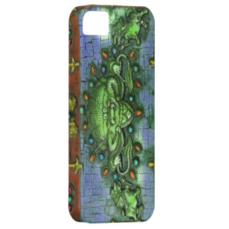 chinese dragon mosiac iphone iPhone SE/5/5s case