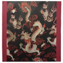 Chinese Dragon Napkin