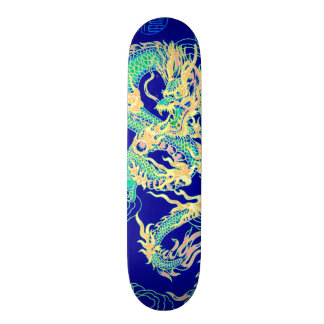 Chinese Dragon Neon Element Custom Pro Park Board