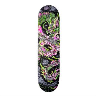Chinese Dragon Neon Foil Element Custom Pro Board