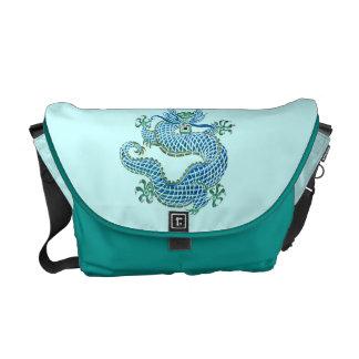 Chinese Dragon Ornament Messenger Bag