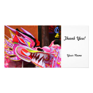 Chinese Dragon Photo Card Template