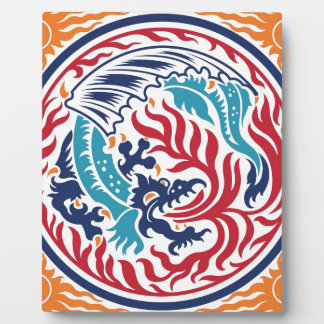 Chinese Dragon Display Plaque