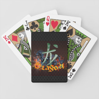 Chinese Dragon Playing Cards