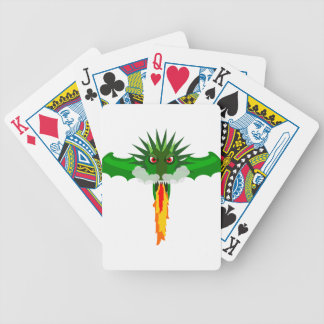 Chinese dragon bicycle card deck