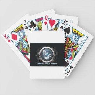 Chinese dragon poker deck