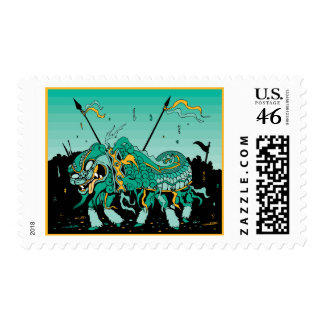 Chinese Dragon Postage