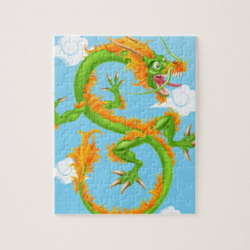 Chinese Dragon Puzzle