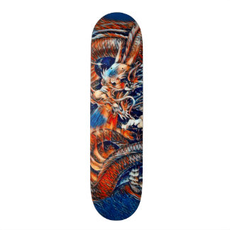 Chinese Dragon Rain Element Custom Pro Park Deck