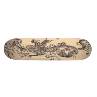 Chinese Dragon Skateboard Deck