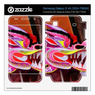Chinese Dragon Samsung Galaxy S 4G Skins