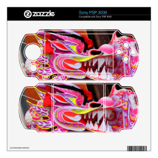 Chinese Dragon Decal For Sony PSP 3000