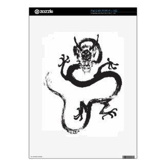 Chinese Dragon Decal For The iPad 2