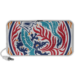 Chinese Dragon iPod Speakers