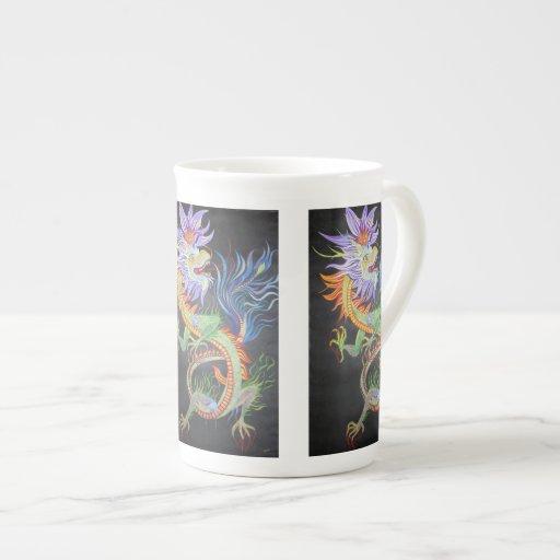 Chinese Dragon Porcelain Mug