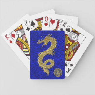 Chinese Dragon Symbol Playing Cards
