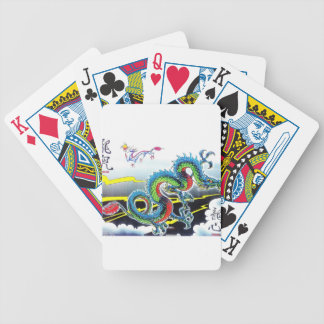 Chinese Dragon theme Deck Of Cards