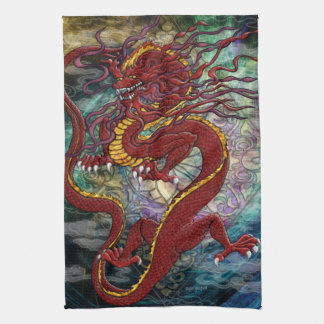 Chinese Dragon Towel