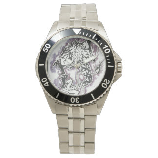 Chinese dragon(tribal) wrist watch