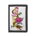 Chinese Dragon Trifold Wallet