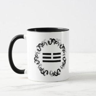 Chinese Dragon Trigram Gift Mug