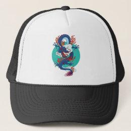 Chinese Dragon Trucker Hat
