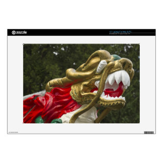 Chinese dragonboat figurehead, Stanley Park Skin For Laptop