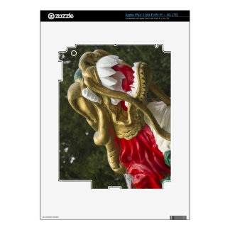 Chinese dragonboat figurehead, Stanley Park Skins For iPad 3