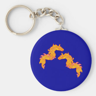 Chinese dragons Chinese dragee ONS Keychain