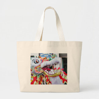 Chinese Dragons Flat Stanley Tote Bags