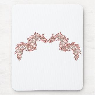Chinese Dragons Mythology Mouse Pad