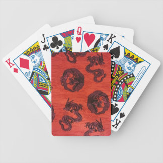 Chinese Dragons Playing Cards