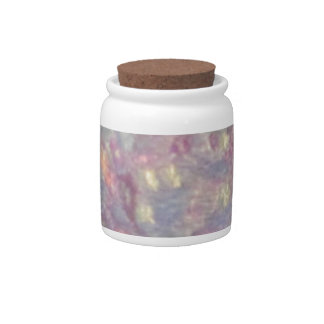 Chinese embroidery candy jar